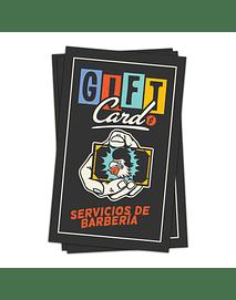 GIFTCARD SERVICIOS BARBERÍA