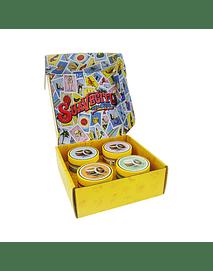 Suavecito Lotería Kit 4 Pomadas