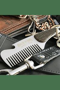 Peine Deluxe Metálico Barba