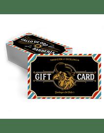 Gift Card Afeitado Completo al Ras