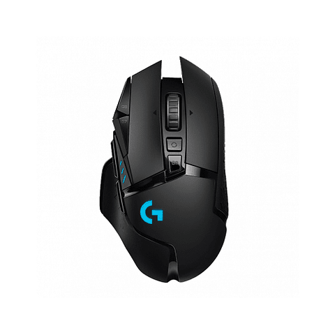 Mouse inalámbrico Logitech G502 Lightspeed, Sensor Hero 16K, Carga inalambrica Powerplay