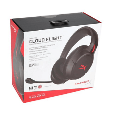Cloud Flight - Wireless Gaming Headset (Black)
