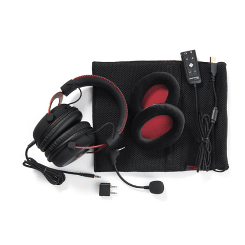 Audifonos Gaming HyperX Cloud II - Pro Gaming Headset (Red)