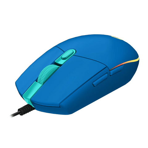 Mouse Gamer Logitech G203 Lightsync Blue / Optico / USB / 8000DPI / Led RGB / 6 Botones