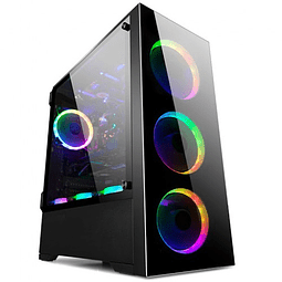 Gabinete ATX GamePro Z21 3 Fan RGB