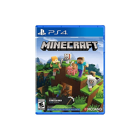 MINECRAFT STARTER COLLECTION - PS4