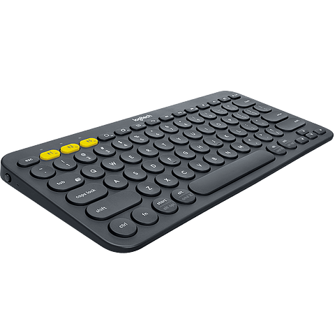 Teclado Bluetooth K380 Multi-Device Windows, Mac, Chrome OS, Android, iOS