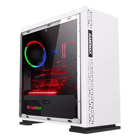 GABINETE GAMEMAX EXPEDITION H605 WHITE
