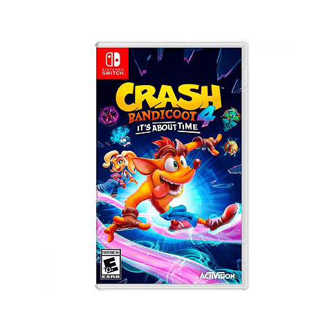 CRASH BANDICOOT 4: ITS ABOUT TIME SWITCH