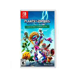 Plants vs Zombies Battle For Neighborville Complete Edition Switch