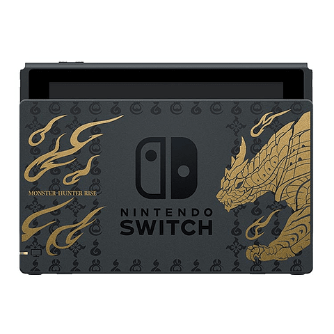 CONSOLA NINTENDO SWITCH MONSTER HUNTER RISE DELUXE EDITION