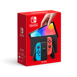 Consola Nintendo Switch OLED Neon Red/Neon Blue
