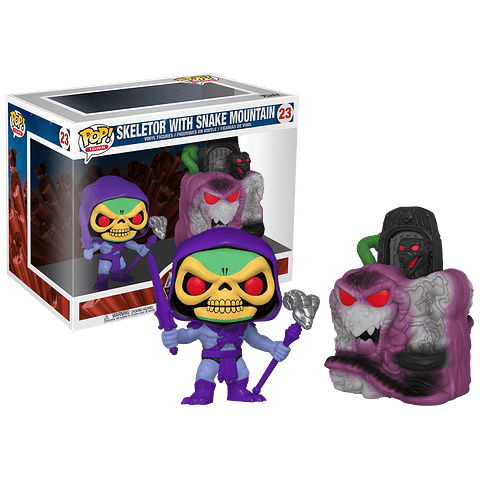 POP TOWN: MASTERS OF THE UNIVERSE - SNAKE MOUNTAIN W/ SKELETOR