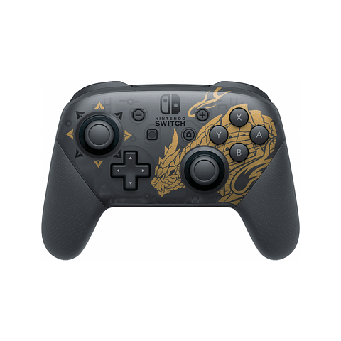 PRO CONTROLLER NINTENDO SWITCH MONSTER HUNTER RISE EDITION