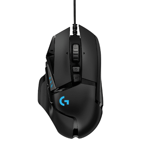 Mouse Gamer Logitech G502 Hero, Gaming Mouse, 16,000 DPI, 11 botones programables