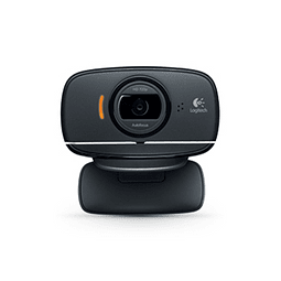 Webcam Logitech HD C525 con Micrófono, 8MP, 1280 x 720 Pixeles, USB 2.0, Negro