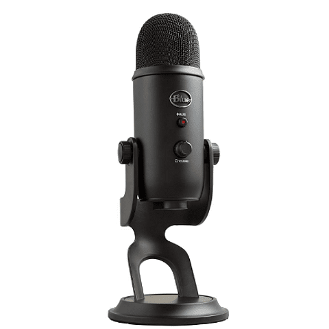 Micrófono Profesional BLUE Yeti BlackOut Edition USB