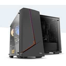 Gabinete Alpha NOX Rainbow ARGB Mini TOWER CHASSIS