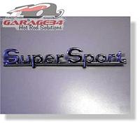 Emblema Super Sport Cromado