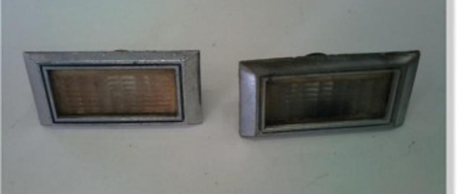 Lanterna Lateral Usadas em Camaro e Pontiac 1967 e 1968