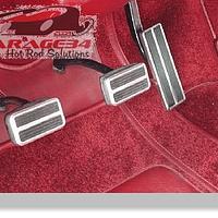 Pedal Retangular em Aluminio Universal