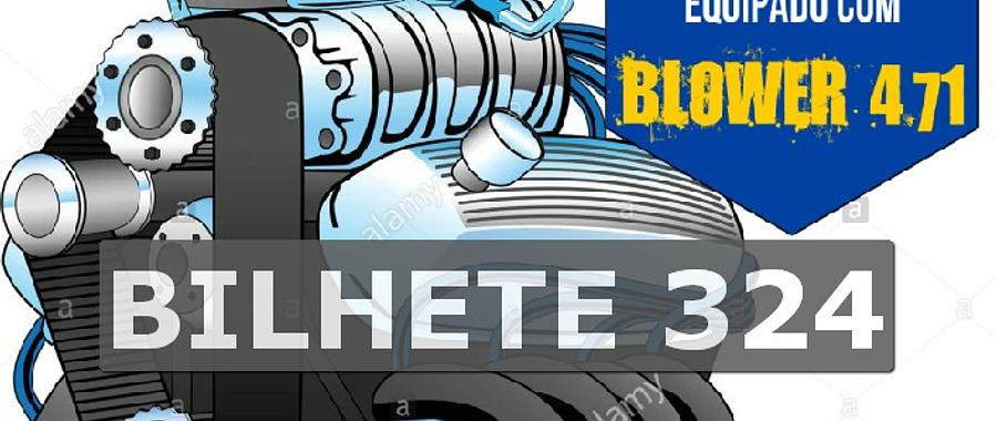 Ford 302 com Blower Bilhete 324