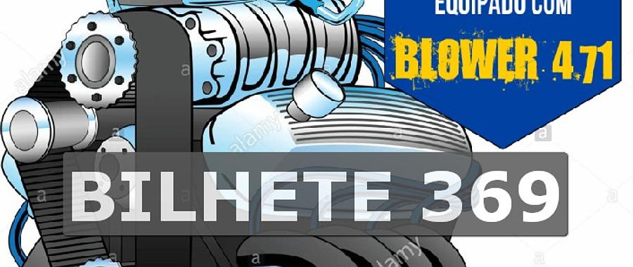 Ford 302 com Blower Bilhete 369