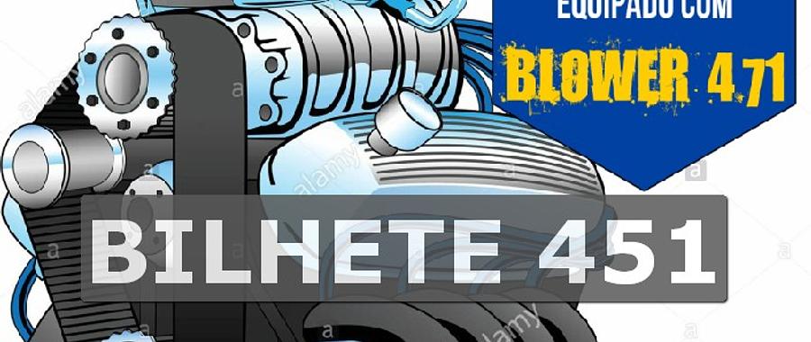Ford 302 com Blower Bilhete 451