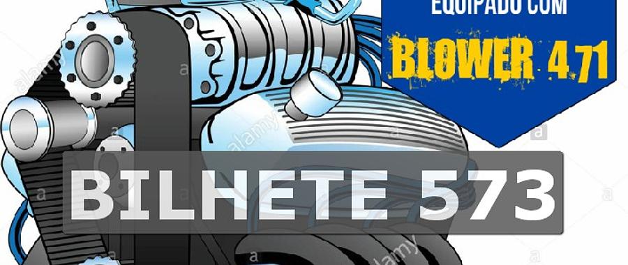 Ford 302 com Blower Bilhete 573