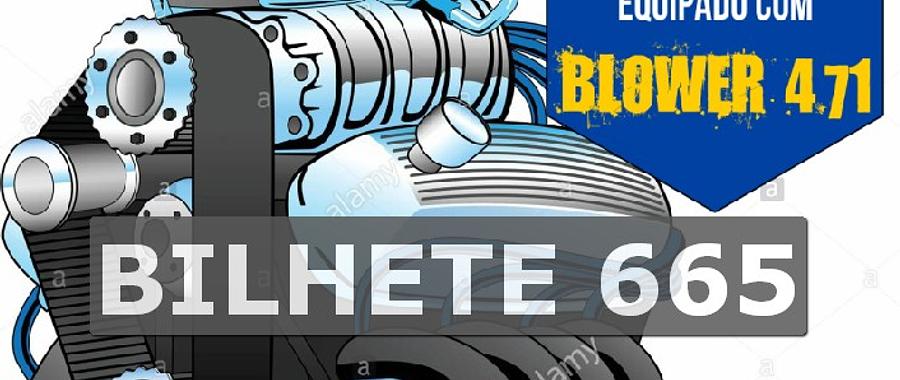 Ford 302 com Blower Bilhete 665