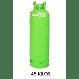Cilindro de 45 Kilos