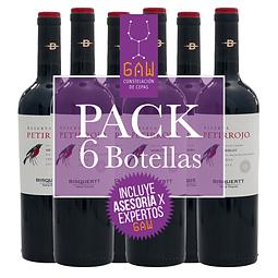 Pack Petirrojo Reserva / Merlot