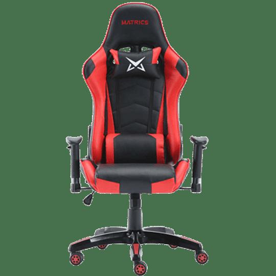 Cadeira Gaming Matrics Osiris Vermelho - Image 1