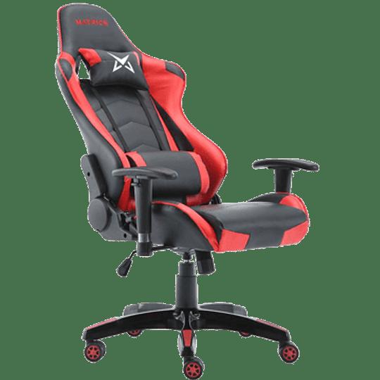Cadeira Gaming Matrics Osiris Vermelho - Image 2