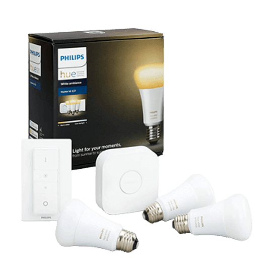 Kit inicial 3xE27 Hue White Ambiance
