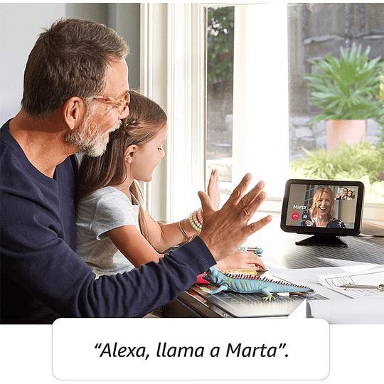 Amazon Echo Show 8 Preto Charcoal - Assistente Smart Home - Image 3