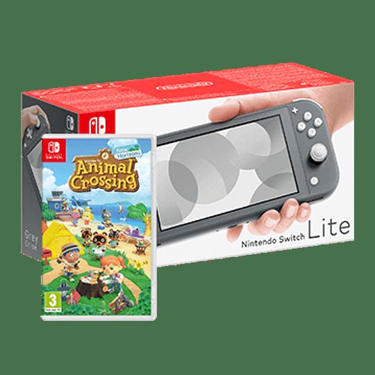 Nintendo Switch Lite + Jogo Animal Crossing: New Horizons