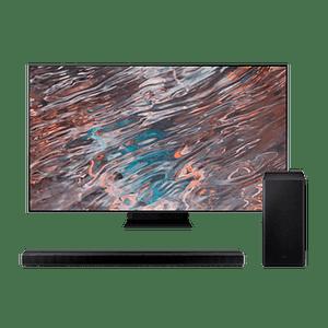 Smart TV Samsung Neo QLED 8K 65'' QE65QN800AT + Soundbar Q800A