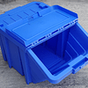 Caja Plástica Apilable con Tapa