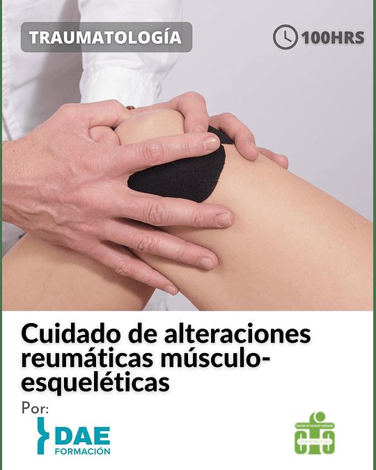 Curso sobre el cuidado de alteraciones reumáticas músculo-esqueléticas ( 100 hrs)