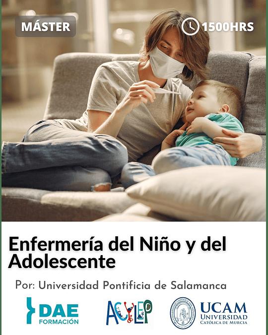 Máster en Enfermería del Niño y del Adolescente ( 1500 hrs)