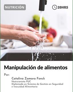 Manipulación de alimentos ( 20 hrs)