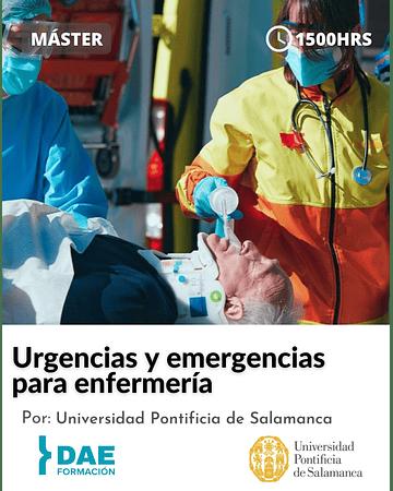 Máster en urgencias y emergencias para enfermería ( 1500 hrs)