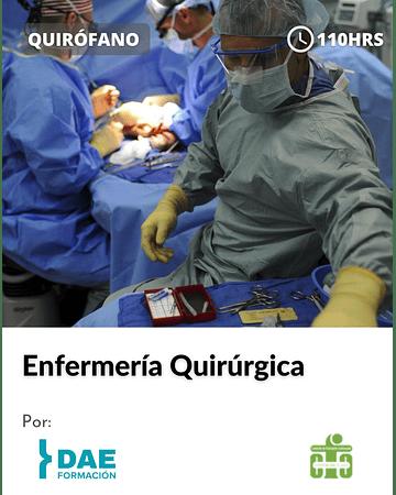 Curso de Enfermería Quirúrgica ( 110 hrs)