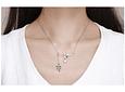 Collar diseño Colibri - Plata S925
