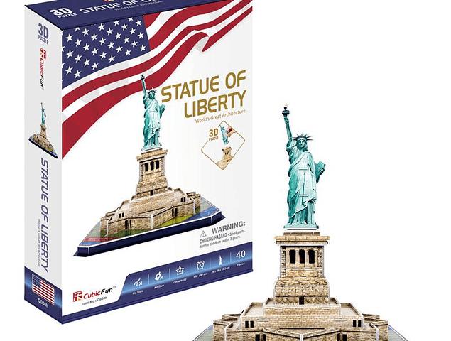 Estatua de la Libertad (USA) - Puzzle 3D CubicFun