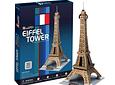 Torre Eiffel (Francia) - Puzzle 3D CubicFun