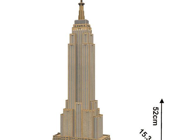 Empire State (USA) - Puzzle 3D CubicFun