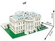 Casa Blanca (USA) - Puzzle 3D CubicFun