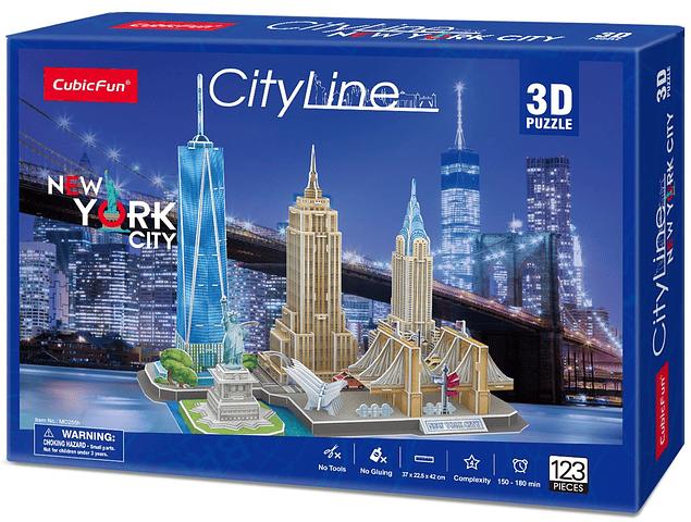 New York CityLine (USA) - Puzzle 3D